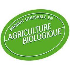 Agriculture biologique autorisée